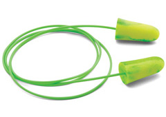 goin green corded foam ear plug