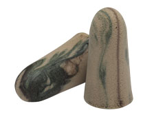 camo uncorded foam ear plug