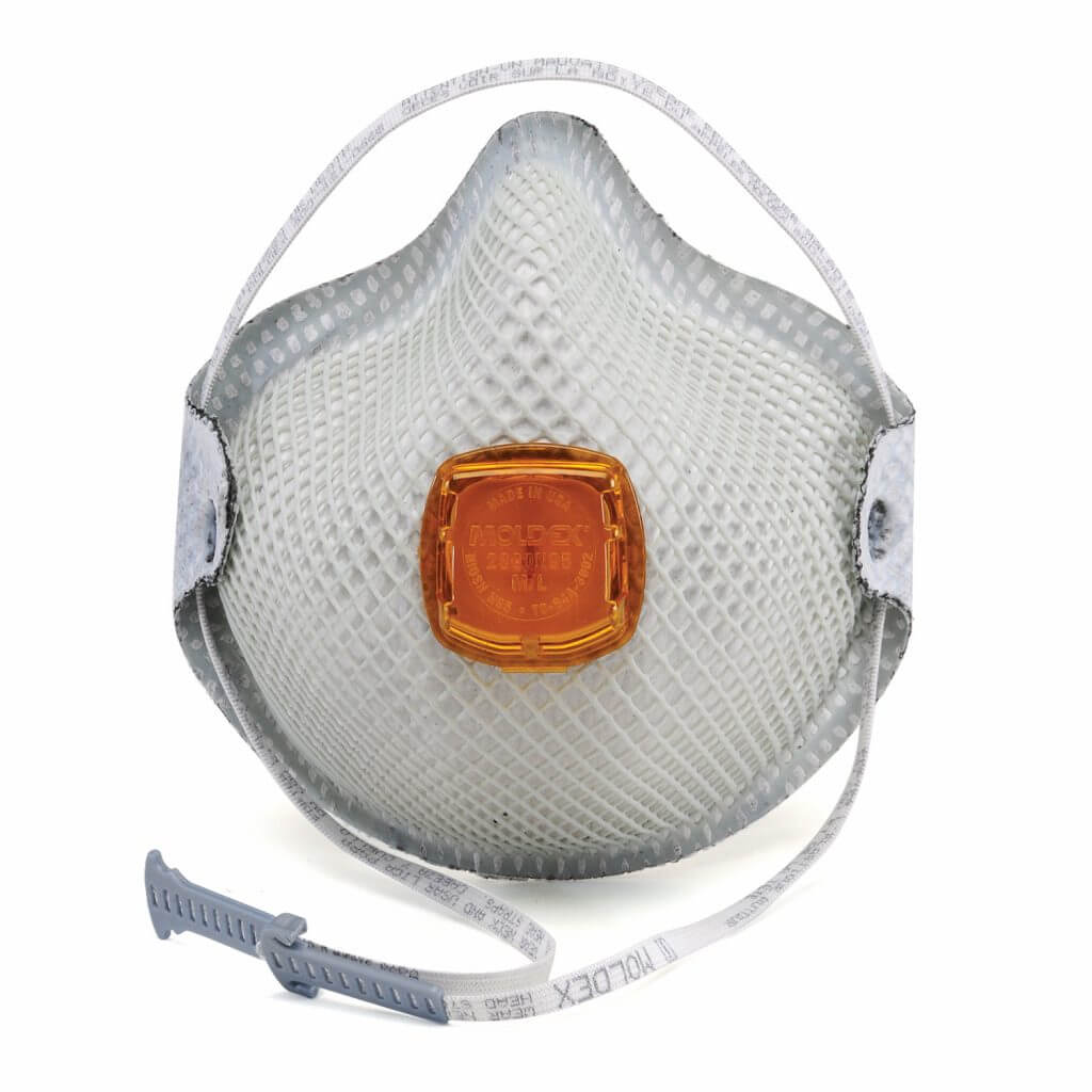 2800N95 Plus Relief From Organic Vapors Series Particulate Respirators With HandyStrap<sup>®</sup> & Ventex<sup>®</sup> Valve