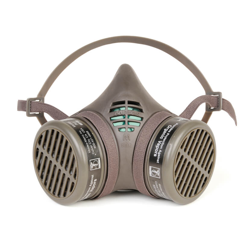 8000 Series Organic Vapor Assembled Reusable Half Mask Respirator & Cartridges