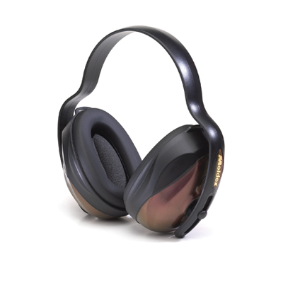 reusable bronze earmuffs for hearing protection