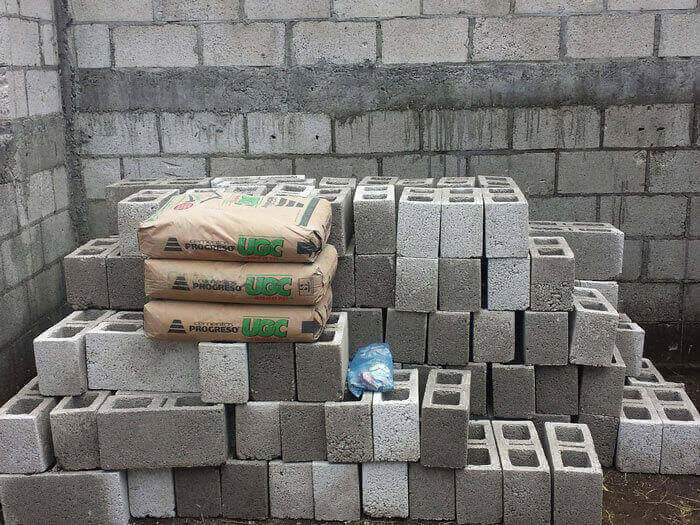 bricks and Cement